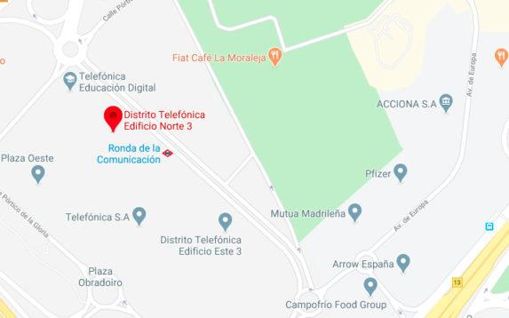 Mapa 42 Madrid