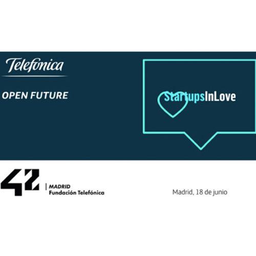 Startups in Love llega en remoto a 42 Madrid de la mano de Telefónica Open Future