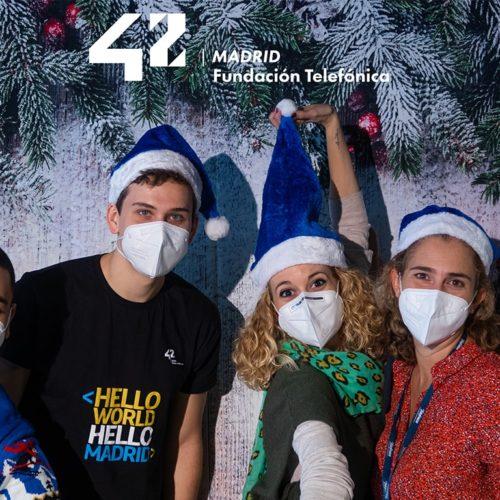 ¡42 Madrid te desea felices fiestas!