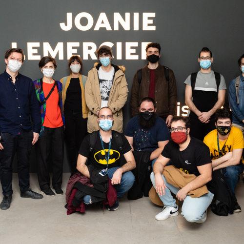 Estudiantes de 42 Madrid y Joanie Lemercier recorren juntos 'Paisajes de Luz', la nueva exposición de Espacio Fundación Telefónica