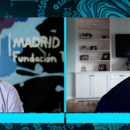 42 Madrid, testigo de excepción de una conversación entre José María Álvarez-Pallete y Hadi Partovi