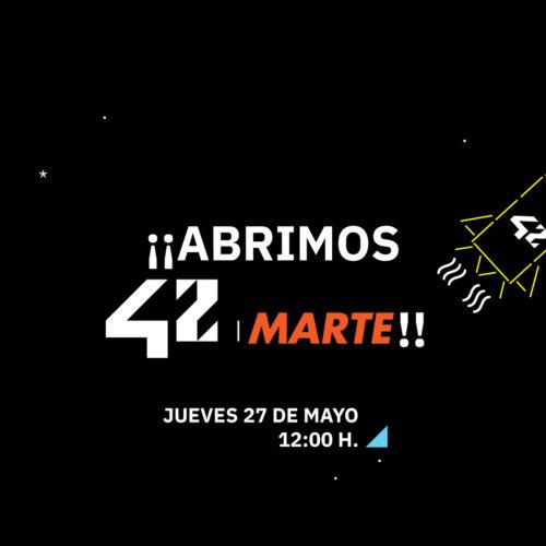 ¡Abrimos 42 Marte!