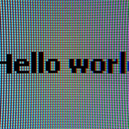 El primer Hello World de la historia